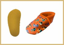 Krabbelschuhe /Trucks orange