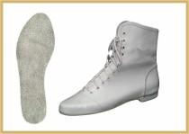 Tanz- & Gardestiefel weiß