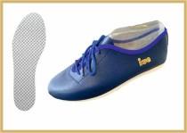 Tanz- & Freizeitschuh farbig kornblau