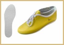 Tanz- & Freizeitschuh farbig gelb
