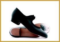 Cuban Heel schwarz