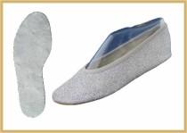 Bauchtanz/Glitter silber