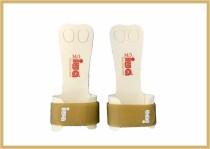 IWA Handschutz Standard 2-Loch goldbraun Klettband