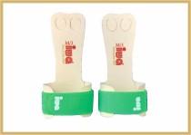 IWA Handschutz Standard 2-Loch neongrün Klettband