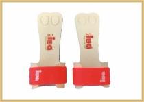 IWA Handschutz Standard 2-Loch neonorange Klettband