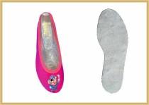 Kidsschuh aus Baumwolle pink