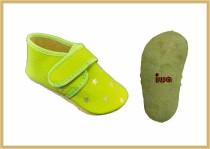 Krabbelschuhe Klett/Stern apfelgrün