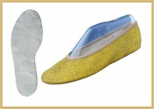 Bauchtanz/Glitter gold